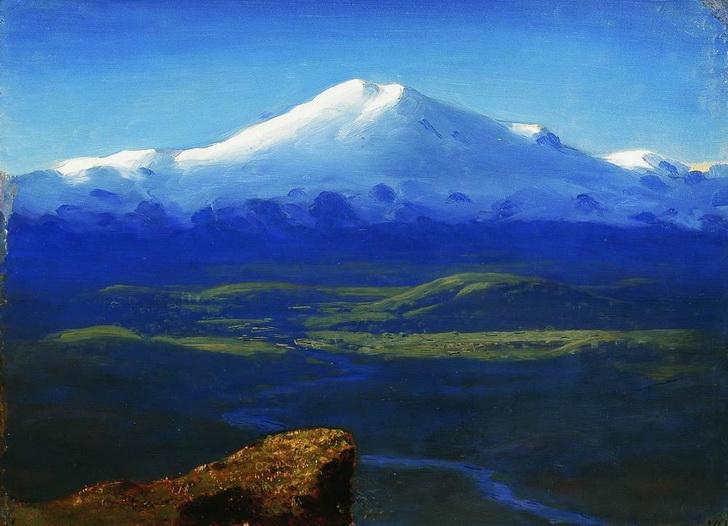 Снежные вершины, 1895 год
