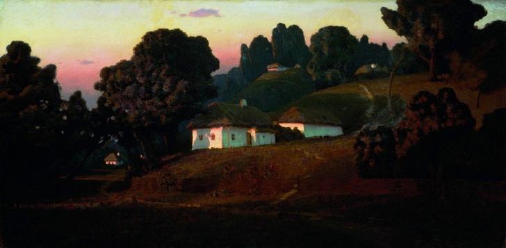 Вечер на Украине, 1878 год