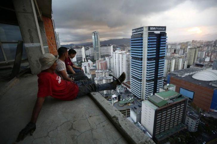 «Башня Давида» в Каракасе: самый большой сквот в мире