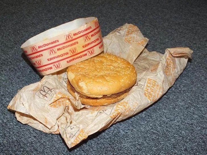 Еще подростками они положили бутерброд из McDonald's в коробку... Через 20 лет парни остолбенели!