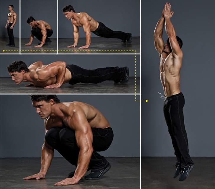Бёрпи — революция в жиросжигающих упражнениях!