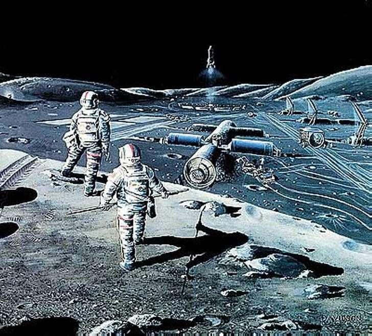 Туристические фирмы готовятся к отправке первых туристов на луну