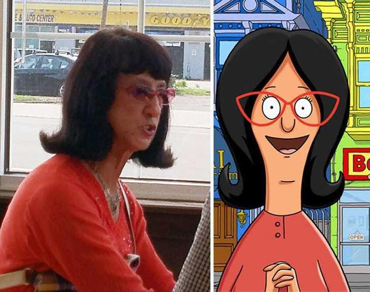 Люди, которые выглядят как персонажи мультфильмов