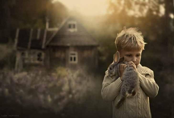 На деревню к бабушке. А как ты провел свое детство?