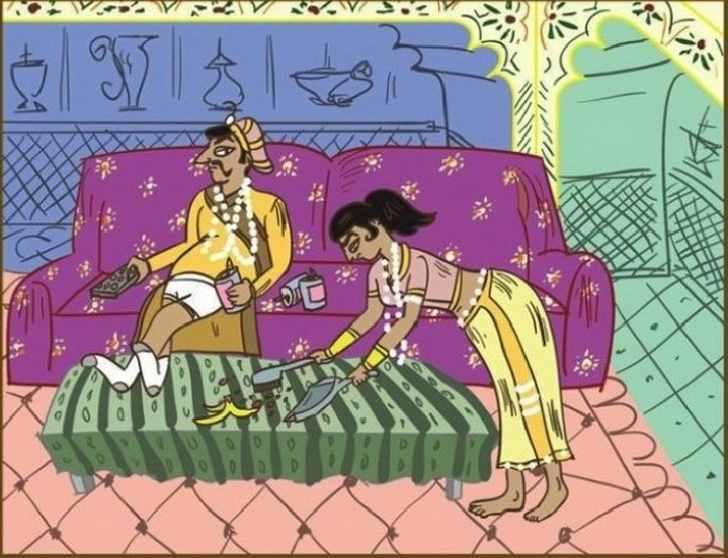Kамаsутра для супругов со стажем. В этих позах легко узнаешь себя!