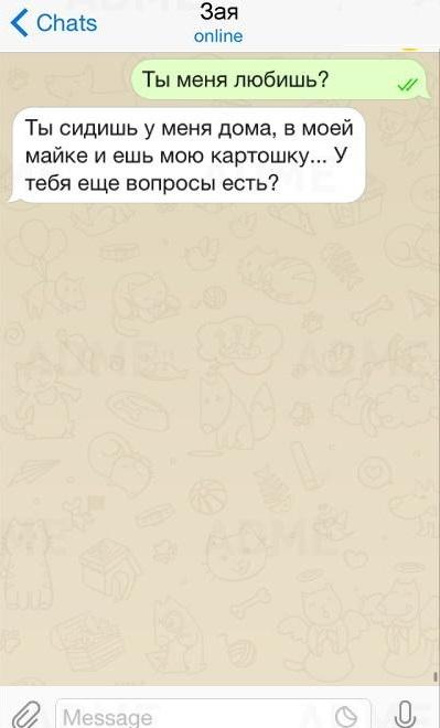 15 СМС, в которых сразились мужская и женская логика
