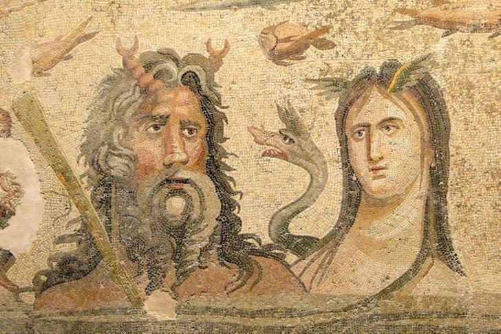 Археологи обнаружили восхитительную древнегреческую мозаику в нетронутом состоянии