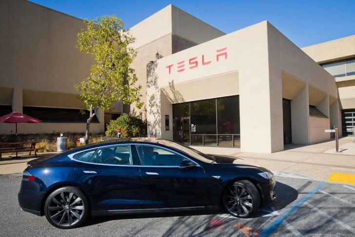 Как работает автомобиль Тесла