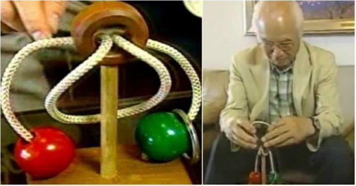 Японский дедушка 10 лет не мог разгадать головоломку, а когда почувствовал, что его жизни может не хватить, обратился на телевидение