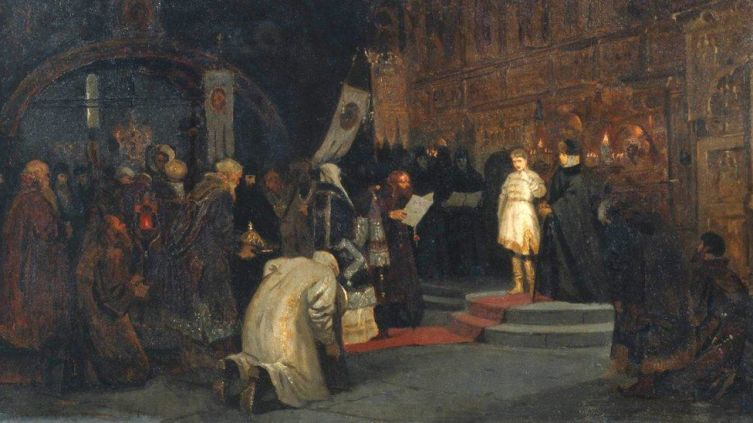 Как Земский собор избирал царем Михаила Романова