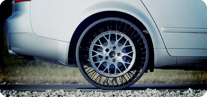 Что может шина нового поколения Tweel?