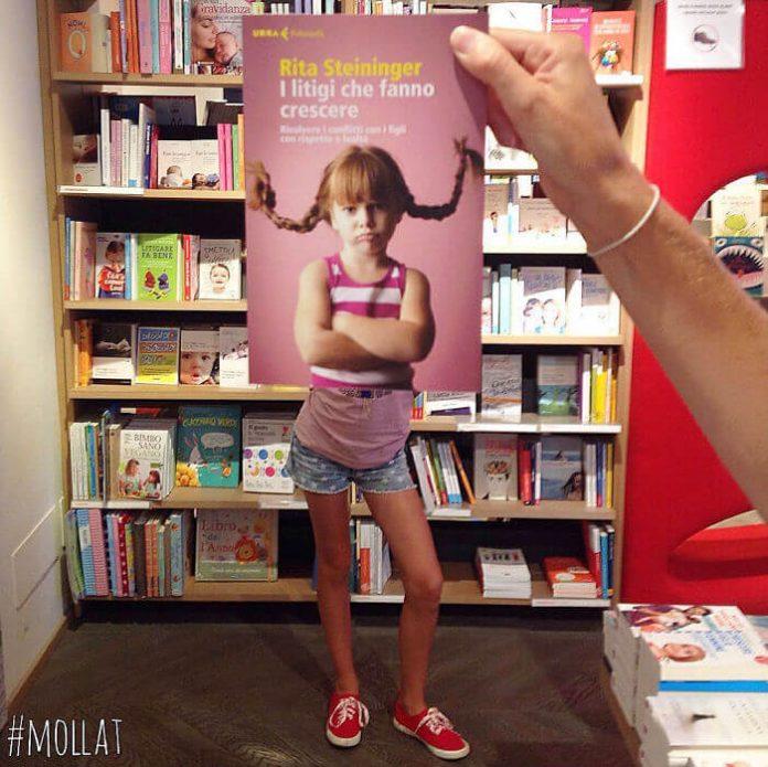 Так бывает, когда заскучают работники книжного магазина