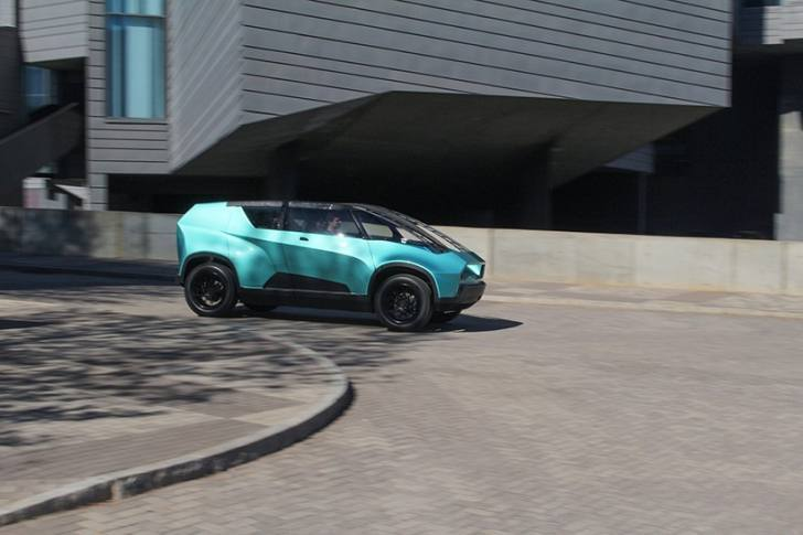 Студенты представили концепт-кар Toyota uBOX