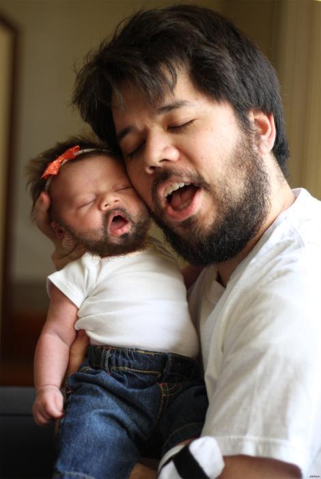 18 позитивных снимков мужчин, которые могут смело претендовать на звание «Отец года»