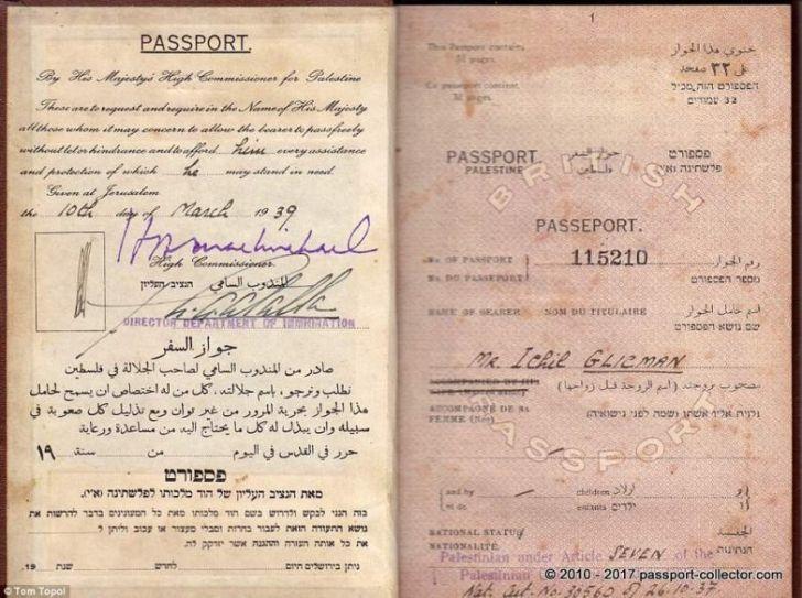 Паспорта стран, которых больше нет