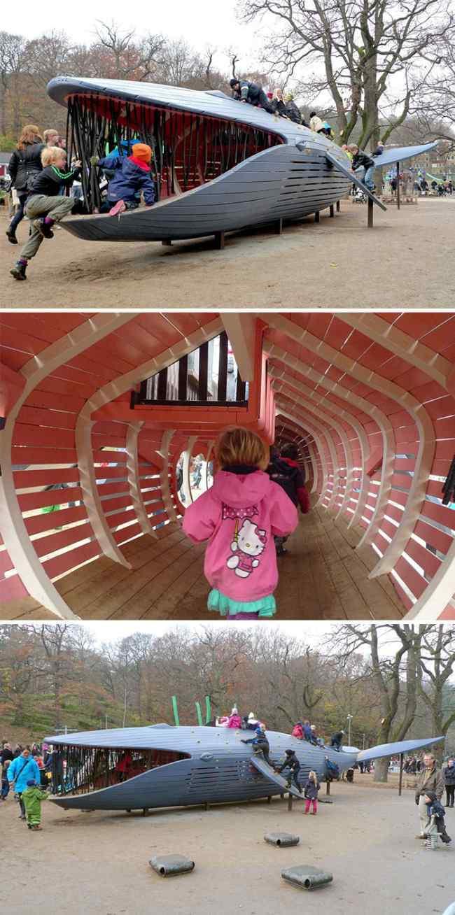 Детские площадки от датской компании, перед которыми не могут устоять даже взрослые
