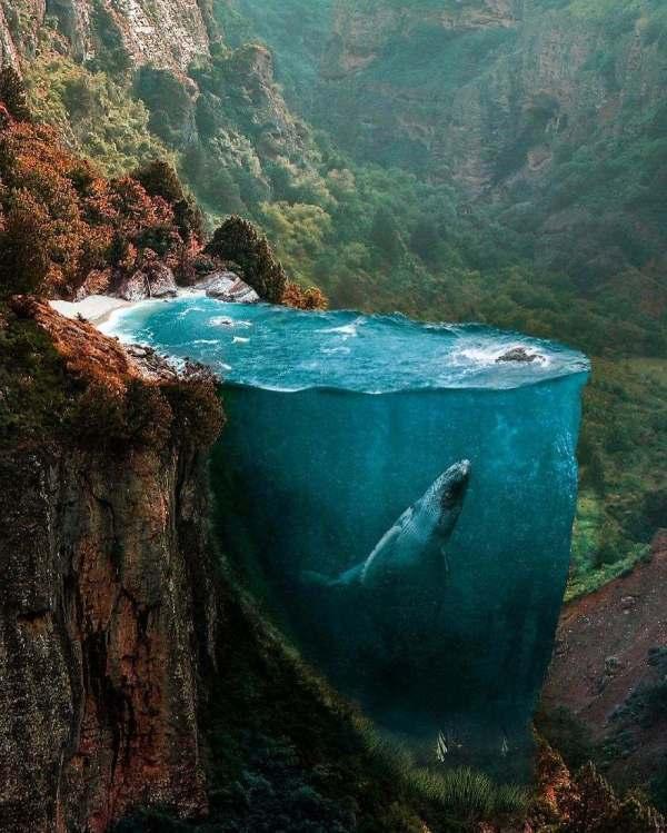 10 ирреальных картин турецкого фотохудожника