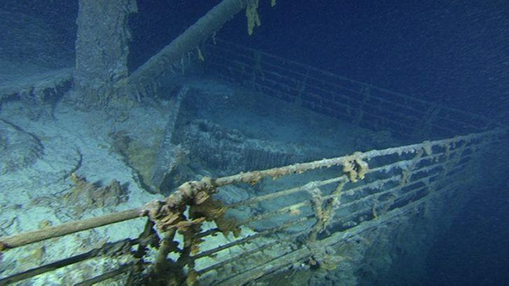 Уникальные кадры с затонувшего «Титаника», которые потрясли весь мир!