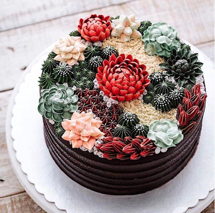 10 идей красивейших тортов, чтобы отпраздновать приход весны
