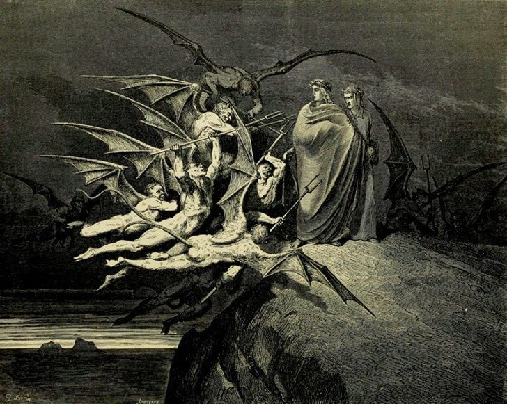 a personal interpretation of dantes inferno a poem by dante alighieri
