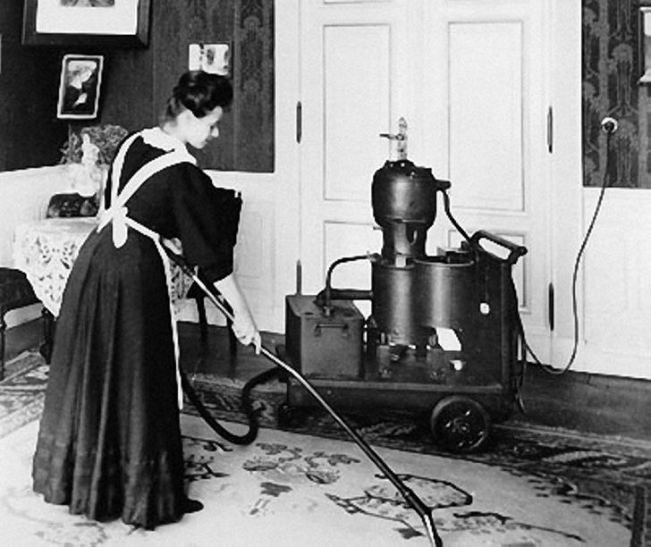 Кого благодарить за изобретение пылесоса?
