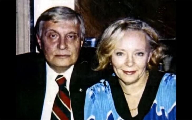 Олег Басилашвили и Галина Мшанская