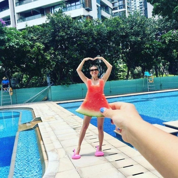 Арбузные платьица: тренд Инстаграм этого лета