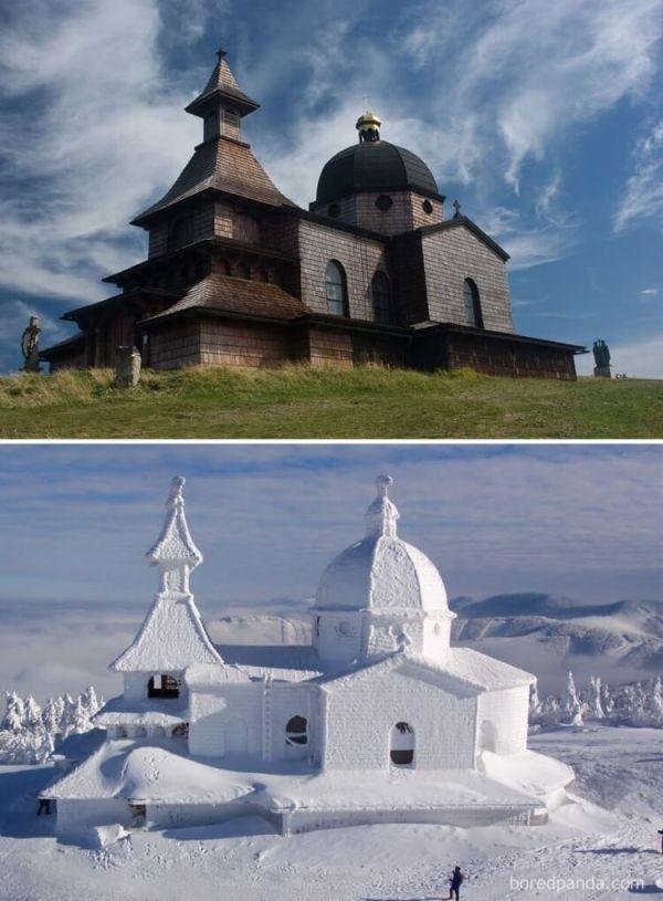 30 сказочных пейзажей зимой и летом