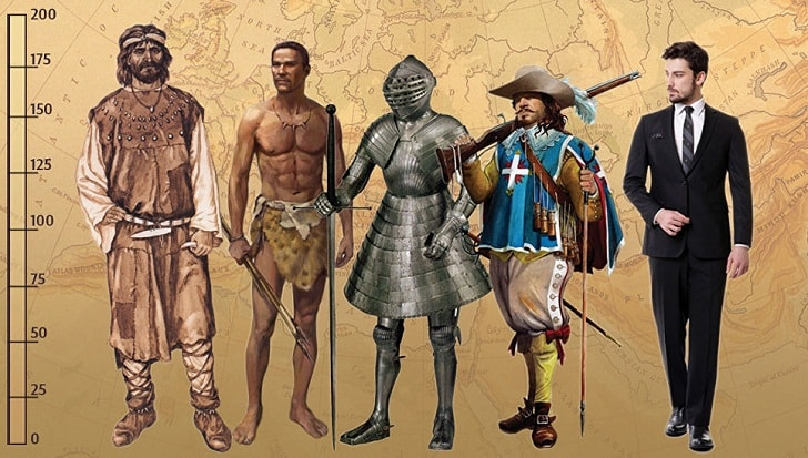 Человек разумный существует, как минимум, 40 000 лет. А как менялся наш рост за эти годы?