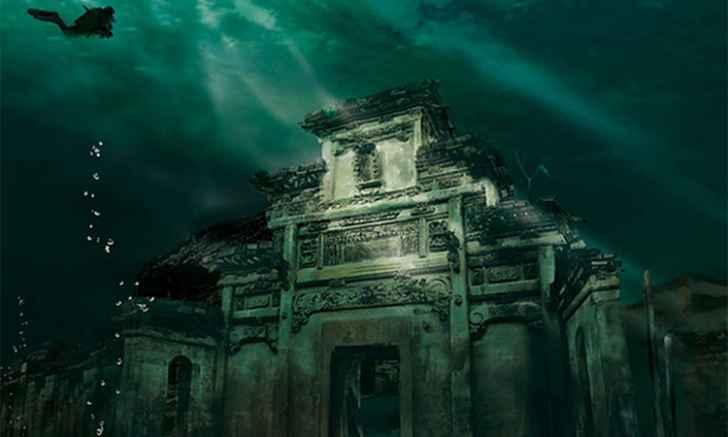 Случайно найденные города-легенды
