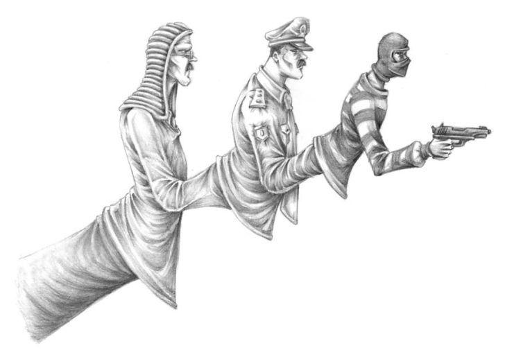 Иллюстрации-провокации - Что не так с современным обществом