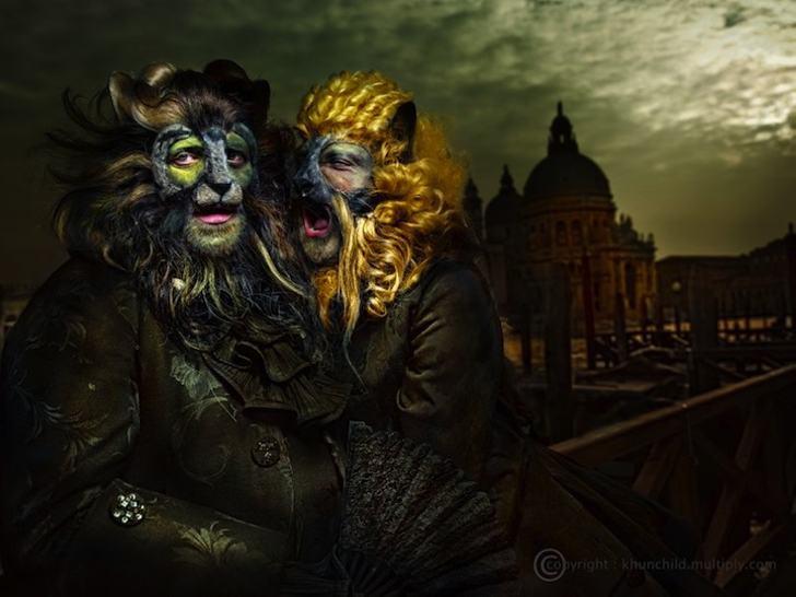 15 костюмов для Венецианского карнавала