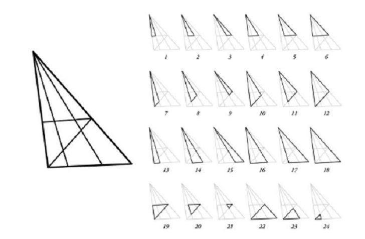Интересная головоломка - проверьте себя, сколько треугольников вы видите?