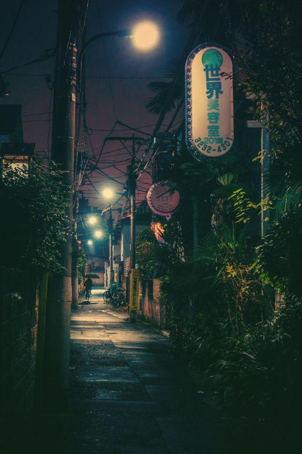 Завораживающие фото токийских улиц
