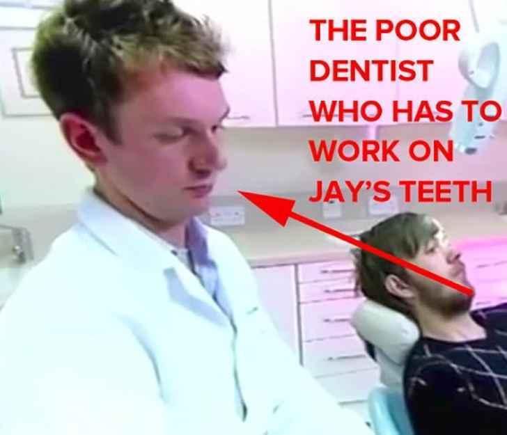 Что бывает, если не чистить зубы 20 лет