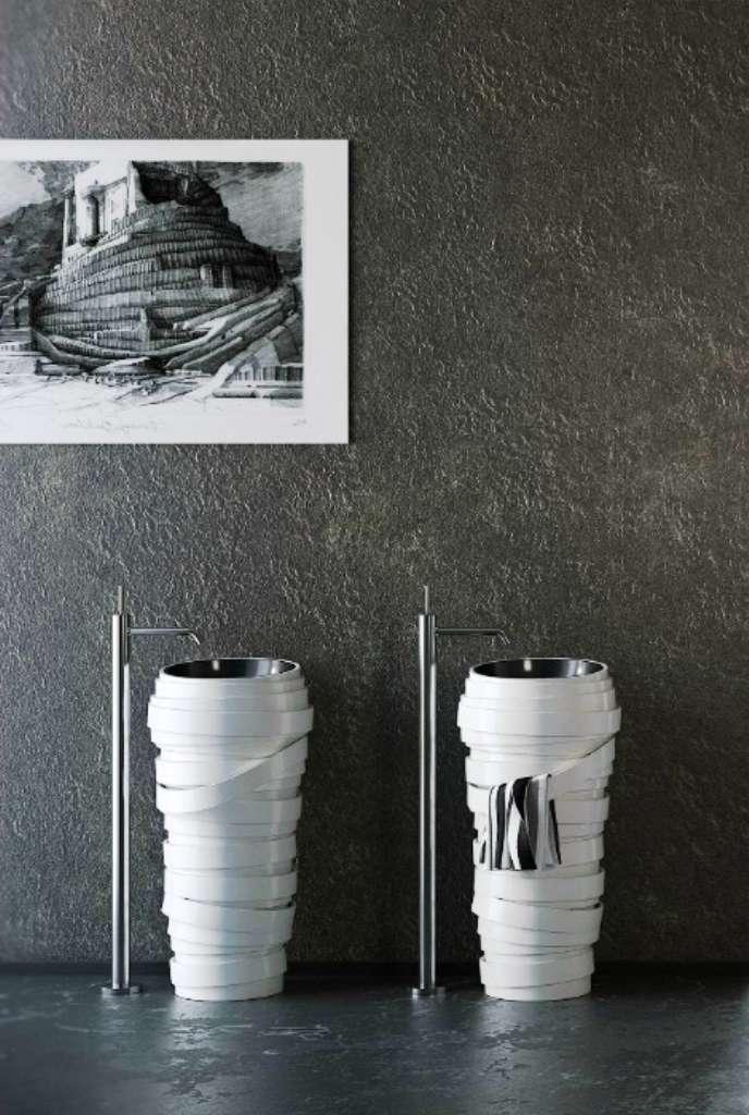 Самые необычные и оригинальные раковины для ванной комнаты