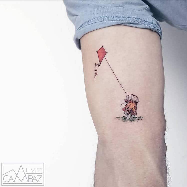 Крошечные татуировки с мимишными персонажами