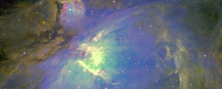 Опубликована карта распространения темной материи во Вселенной