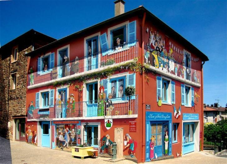 Художник творит новую городскую реальность