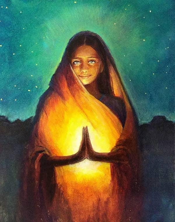 Притча о Несчастной женщине, Смерти и прощении