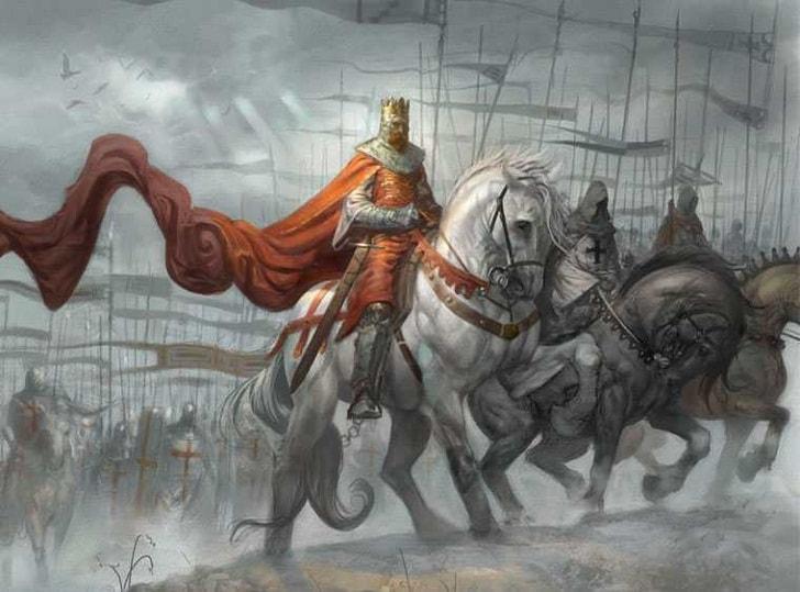 Английский король Ричард I Львиное Сердце
