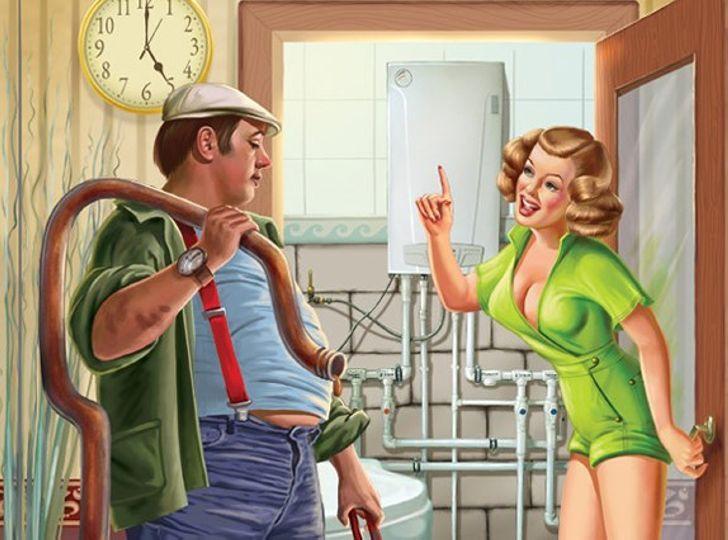 Одна женщина вызвала слесаря…Так начиналась эта веселая подборка анекдотов