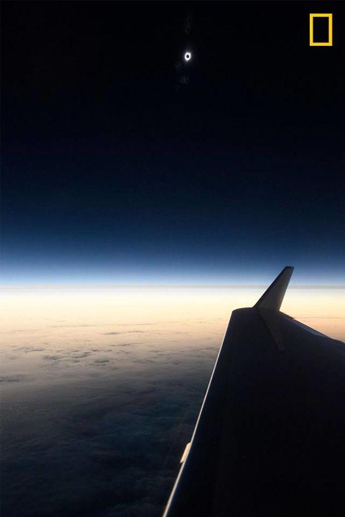 10+ лучших снимков солнечного затмения 2017 года