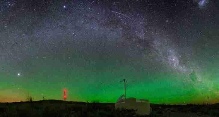 Далекая галактика бомбардирует Землю высокоэнергетическими лучами