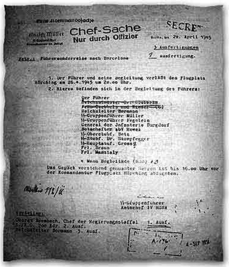 Гитлер умер в… Аргентине?