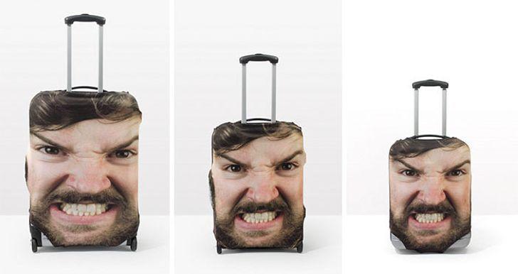 Багаж с вашей фотографией - Гениальное решение для тех кто путешествует