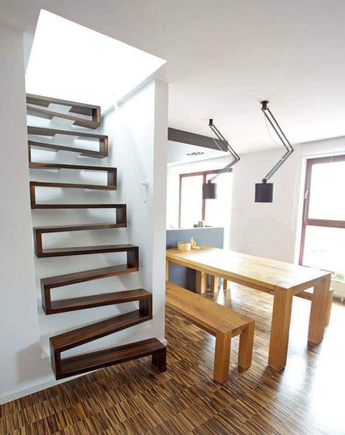 20 невероятных лестниц, построенных в домах