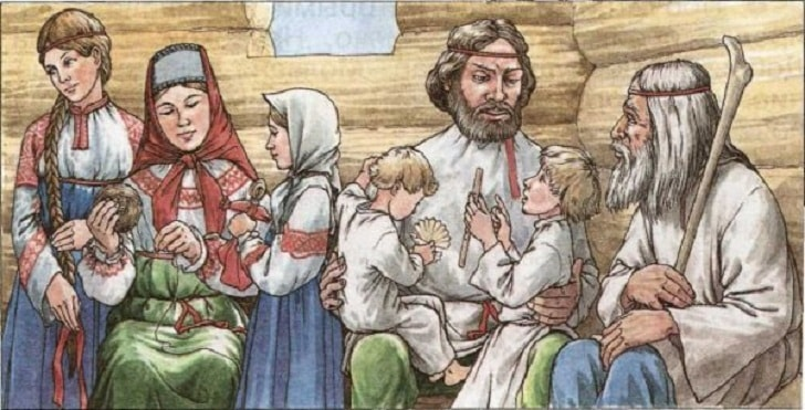 Как растили детей на Руси