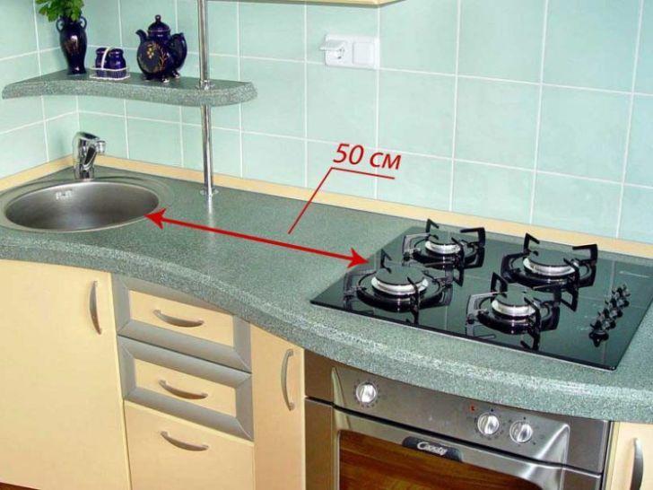 Слово специалисту - Почему нельзя располагать мойку рядом с плитой