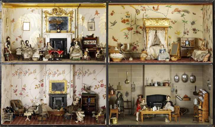 Кукольные домики – Как жили британцы последние 300 лет